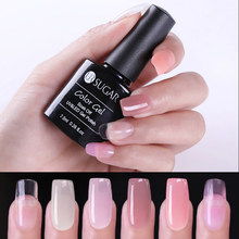 Ur Suiker Quick Building Poly Extension Gel Clear Pink Nail Tips Uv Gel Jelly Acryl Nagel Art Poly Builder vernis(China)