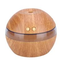 300ml Wood Grain Aroma Essential Oil Diffuser Aromatherapy USB Ultrasonic Mist Maker Aroma Humidifier For Home