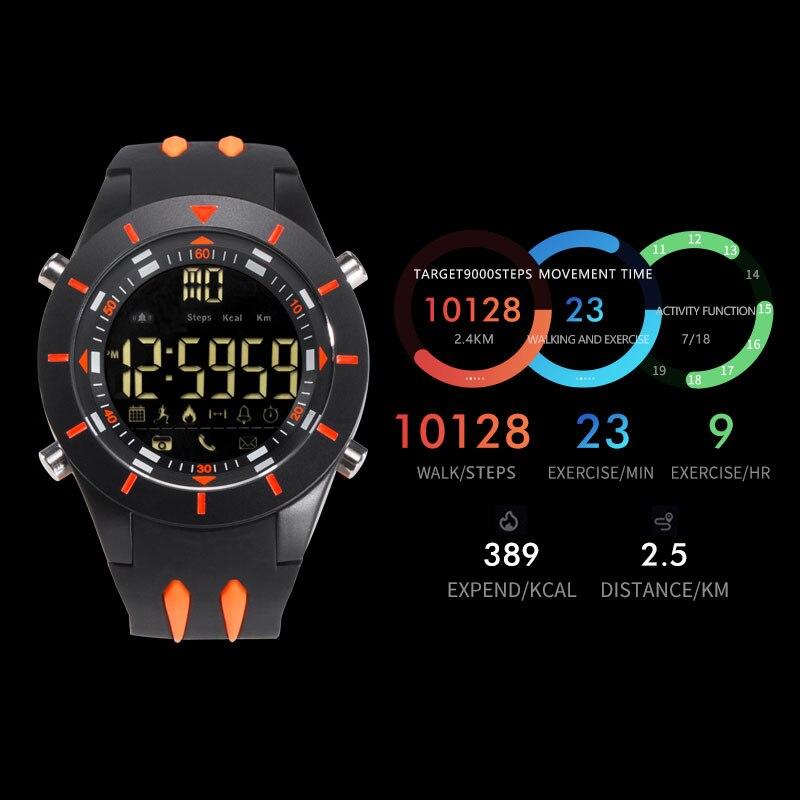 SMAEL Digital Wristwatches Waterproof Big Dial LED Display Stopwatch Sport Outdoor Black Clock Shock LED relogio masculino 8002