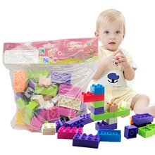 цена на New Early Education Enlightenment Toy Color Environmental Protection Snowflake Blocks Building Blocks Brain Development Assembly