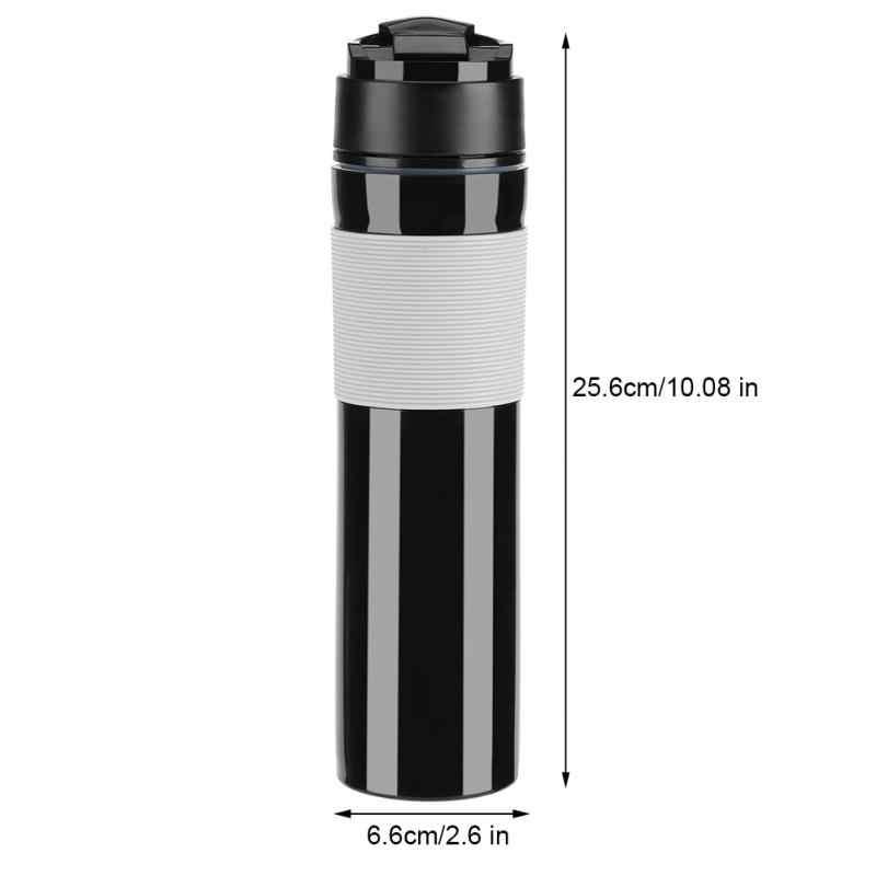 Набор для кофе 350 мл, кружка для кофе с французским прессом, портативные бутылки для воды, походная кофейная кружка, кружка для кофе, вакуумная фляжка