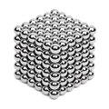 216 pcs 5 mm de neodímio bolas Magnetic Neo Cube Magic Cube enigma magnético de NeoKub de contas sem caixa de metal magnético