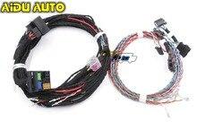 Uso para vw passat b7 b6 cc r36 instalar atualização dynaudio sistema acústico fio plug & play cabo chicote de fios