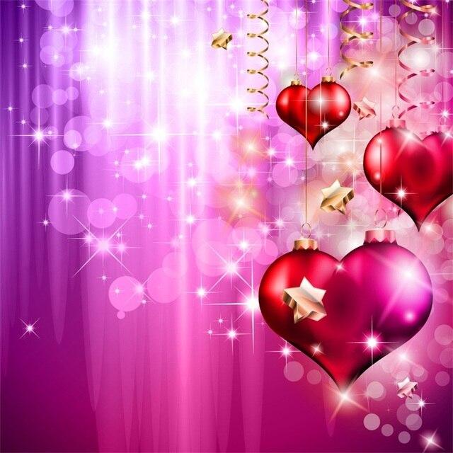 Laeacco Amore Cuori Luce Di Scena Bokeh Di San Valentino Photography