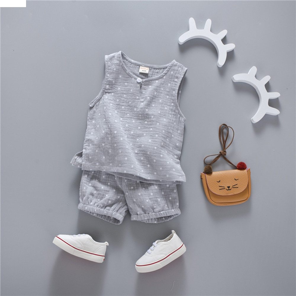 TELOTUNY children set baby boys clothes christmas Toddler Kids Baby Girl Boy Star T-shirt Tops+Shorts Pants Outfits nov29 0 24m floral baby girl clothes set 2017 summer sleeveless ruffles crop tops baby bloomers shorts 2pcs outfits children sunsuit