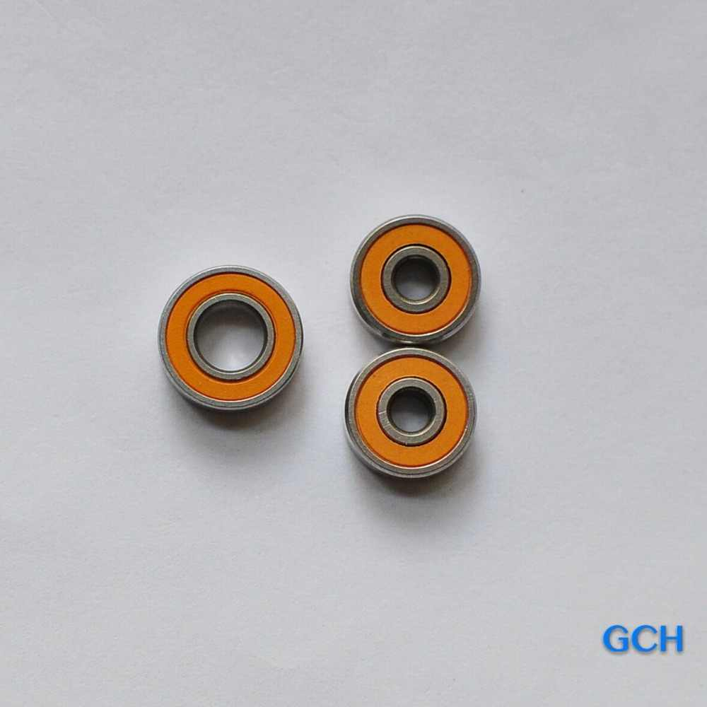 2PCS 6X10X3 , 1PC 8X16X5 2OS  CB ABEC7 Stainless Steel  Hybrid Ceramic Bearings for Fishing Reel  By GCH