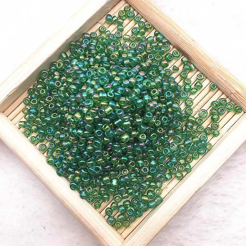 1000 יח'\חבילה (15g) 2mm קסם צ 'כי זכוכית זרע Spacer חרוזים להכנת תכשיטים בעבודת יד DIY מציאת מלאכות