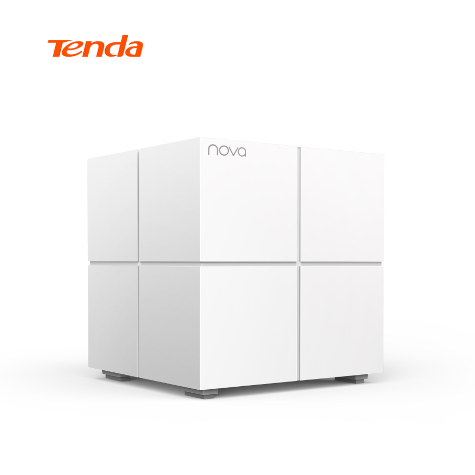 Tenda Nova MW6 Wireless Router Mesh Network Dual Band 2.4Ghz/5.0Ghz Wifi Repeater Mesh WiFi System APP Remote Manage, 1 piece tp link wireless router 802 11ac ac1750 dual band wireless wifi router 2 4g 5 0g vpn wifi repeater tl wdr7400 app routers