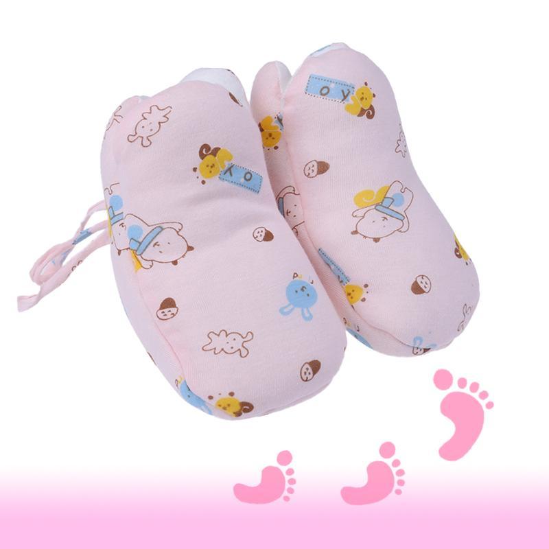 Baby Shoes Winter Newborn Walker Socks Infant Warm Footwear First Walker Toddler Cartoon Printed Cotton Sock 0 to 6 month