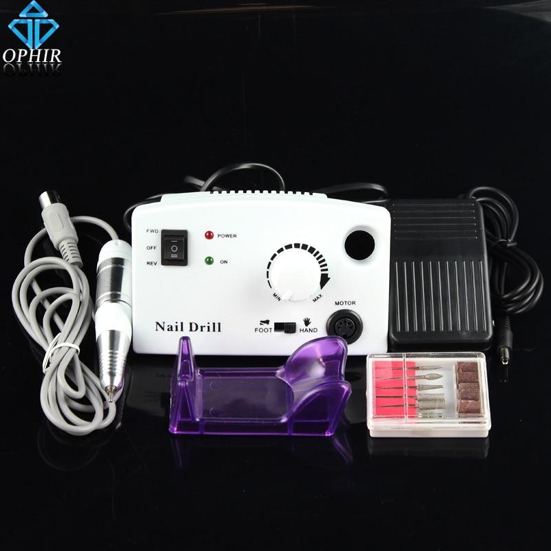 OPHIR Pro küünte art elektriline küünte puurmasin jalgpedaaliga - Küünekunst - Foto 1