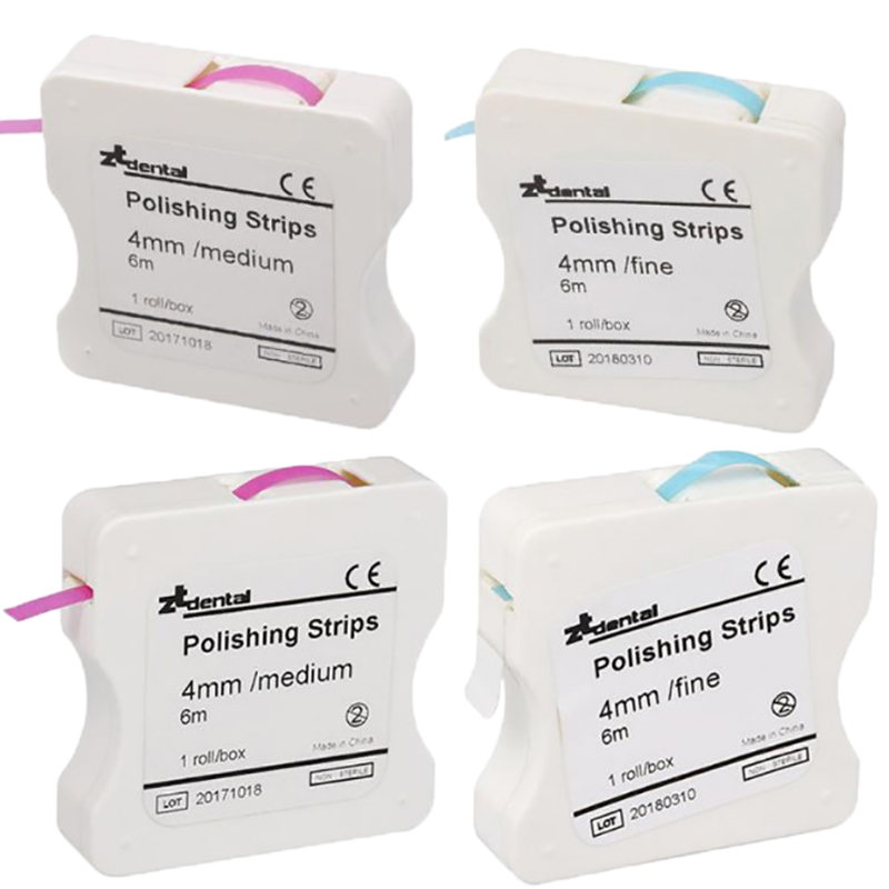 1 Roll Dental Polishing Strip 4mm Resin Tooth Interdental Sanding Grinding Teeth Whitening Surface Dental Tool(China)