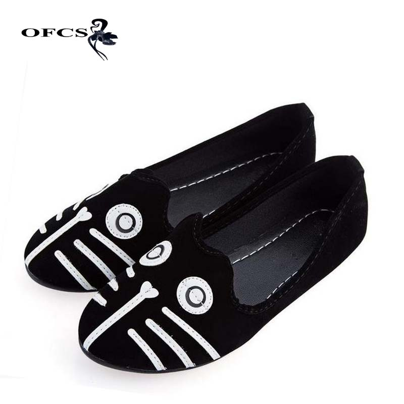 New Fashion Flats Women Shoes Dog Cat Flat Shoes Womens Shoes Loafers Casual Cartoon Suede Women Flat ShoesNew Fashion Flats Women Shoes Dog Cat Flat Shoes Womens Shoes Loafers Casual Cartoon Suede Women Flat Shoes