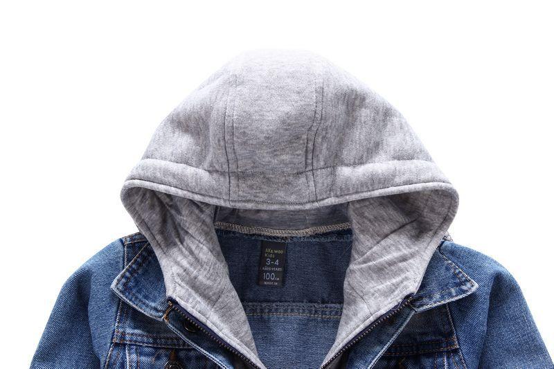 Baby Boys Kids Toddler Children Denim Cowboy Hoodie Coat Outwear Costume Clothes