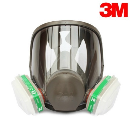 3M 6700+6004 Full Facepiece Reusable Respirator Filter Protection Masks Anti-Ammonia NH3/ Methylamine/ CH3NH2 LT090 3m 6900 6003 size l full facepiece reusable respirator filter protection masks anti organic vapor