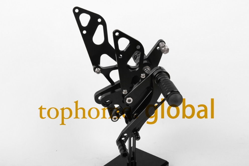 Free Shipping Motorcycle Parts Black CNC Rearsets Foot Pegs Rear Set For Honda NSR50 motorcycle foot pegs free shipping motorcycle dark grey cnc rearsets foot pegs rear set for suzuki sv650 sv650s motorcycle foot pegs