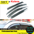 car styling Windows Visors For Renault Koleos 2012 2013 2014 2015Sun Rain Shield Stickers Covers Car - Styling Awnings Shelters