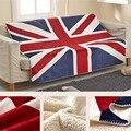 Флаги Великобритании  домашнее украшение  Флисовое одеяло для дивана  теплое и мягкое покрывало/покрывало для кровати  напольный ковер дома...