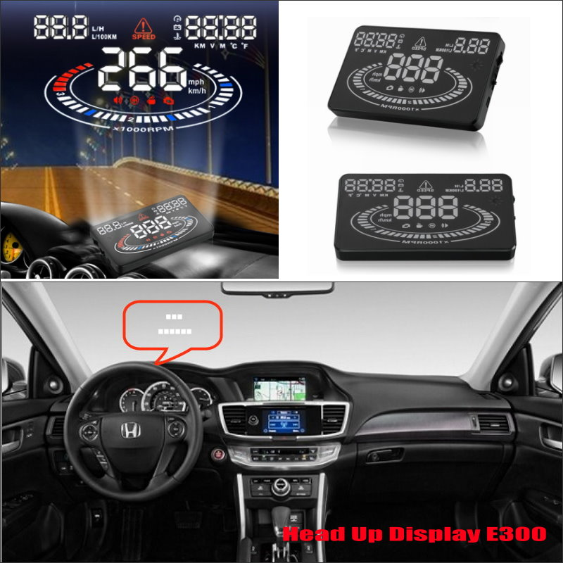 for honda for accord civic 2015 2016 car hud head up display safe driving screen projector. Black Bedroom Furniture Sets. Home Design Ideas