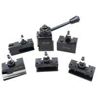 1 Set Steel Tool Post Set Universal Parting Blade Tool Holder For Mini Lathe for 7 x 10 inch 7 x 12 inch 7 x 14inch mini lathe