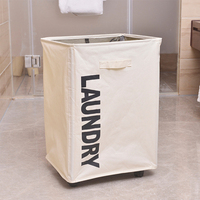 Oxford Laundry Storage Basket For Organizer Bathroom Dirty Clothes Large Hamper With Lied Toy Foldable Clothing Storage Case