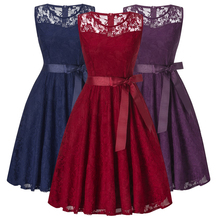 Girls Dresses,2018 Kids Girls Lace commencement Sleeveless Party Dresses,Kids Vintage Clothes For 15-20Yrs Teenager Girls