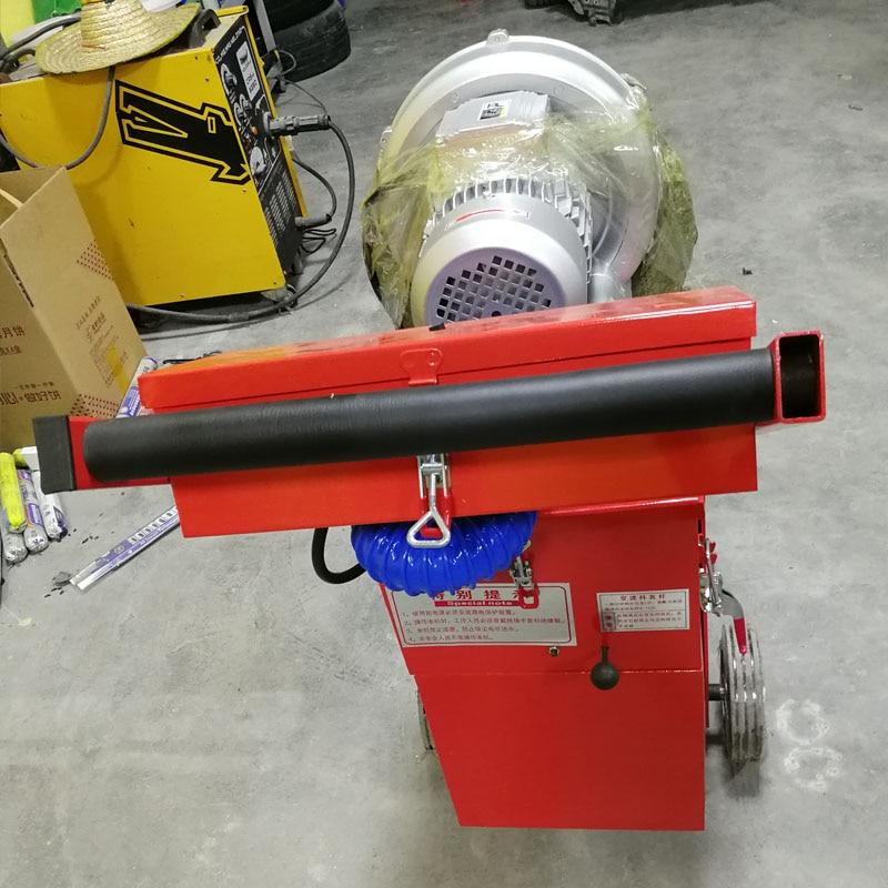 350mm Floor Grinding Machine Concrete Floor Grinder Polisher Vacuuming Grinding Machine Adjustable Grinding Depth 380V/220V