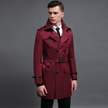 S-6XL!!!  2018   Fashion long-sleeved trench coat Spell big yards long coat skin leisure cultivate one's morality
