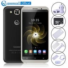 Gooweel S8 smartphone 5.3 pouce HD Écran Quad core GPS 3G Mobile téléphone + 8 GB TF carte + chargeur De Voiture + cas De Silicium + Film