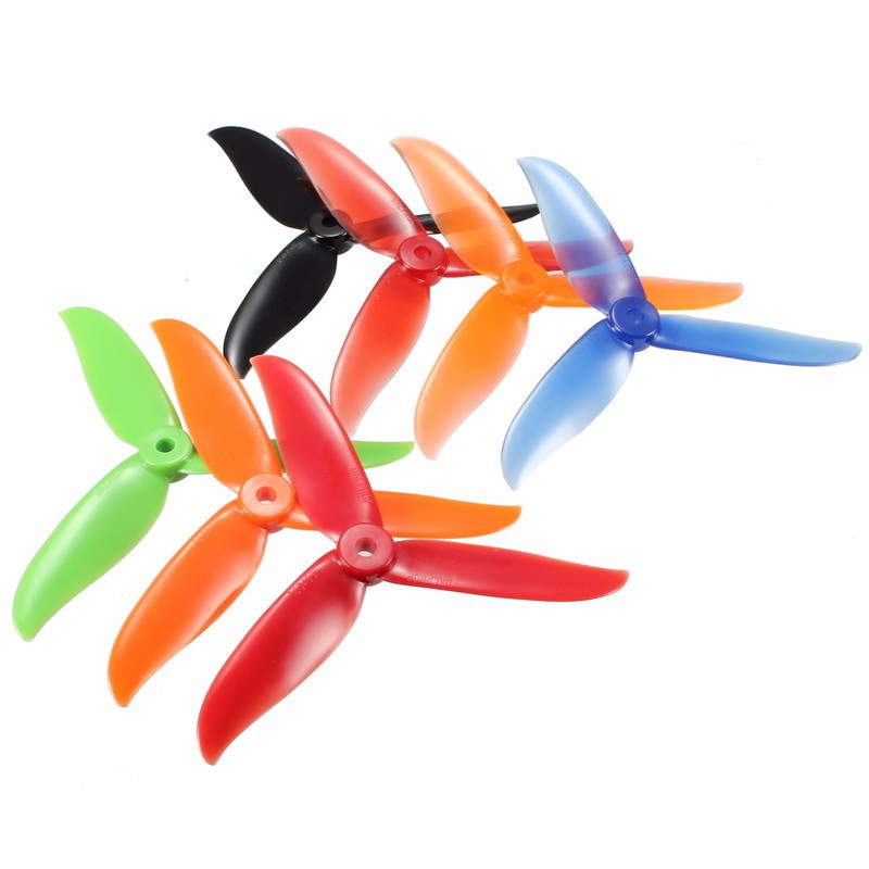 12 / 24PCS DALPROP T5045C Cyclone 5 Inch 3 Blade Propeller Clover Prop Black Red Blue For RC Models Multicopter Parts