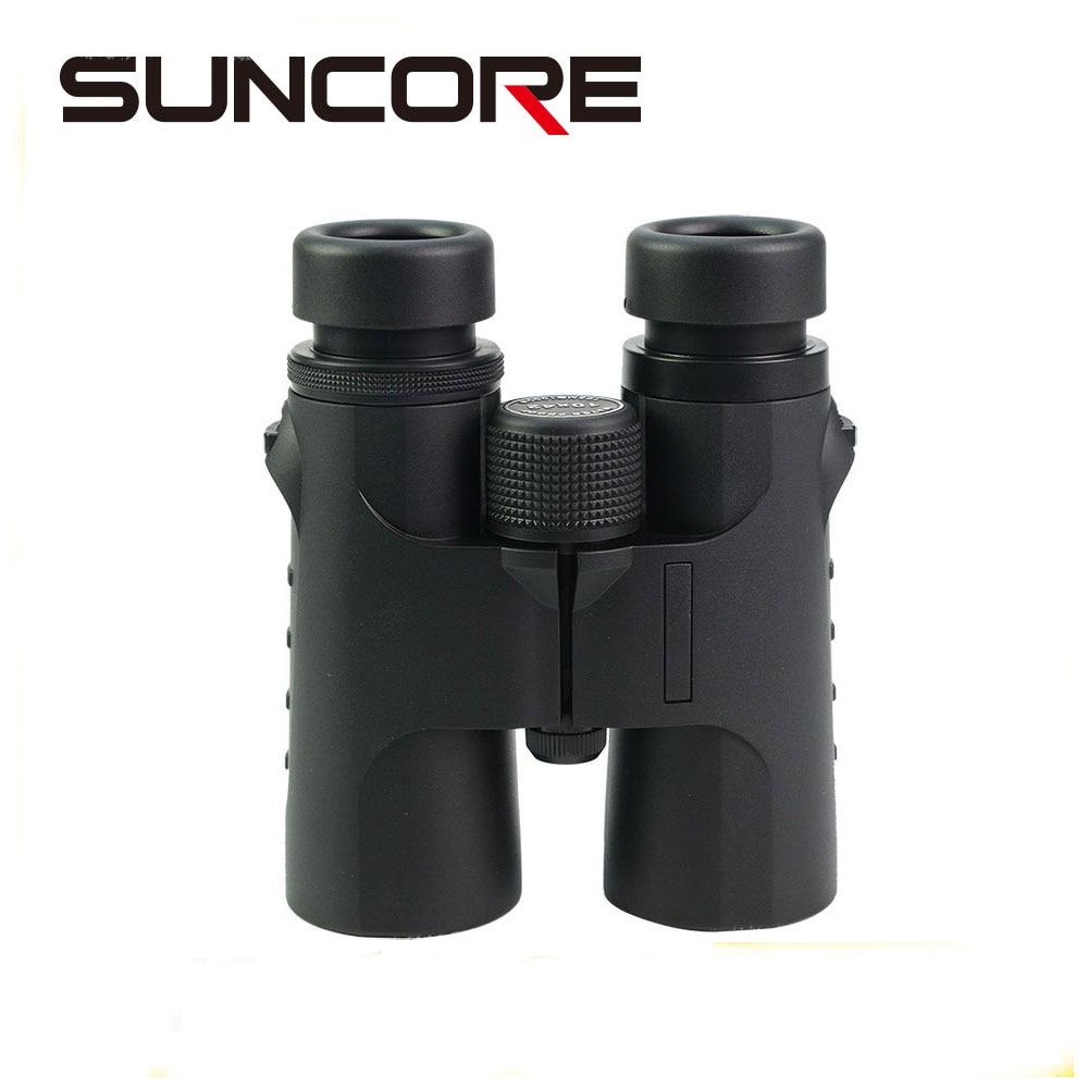 SUNCORE 10X42 Roof binoculars telescope FMC green coated water and fog proof suncore water resistant 12 x 25mm monocular telescope