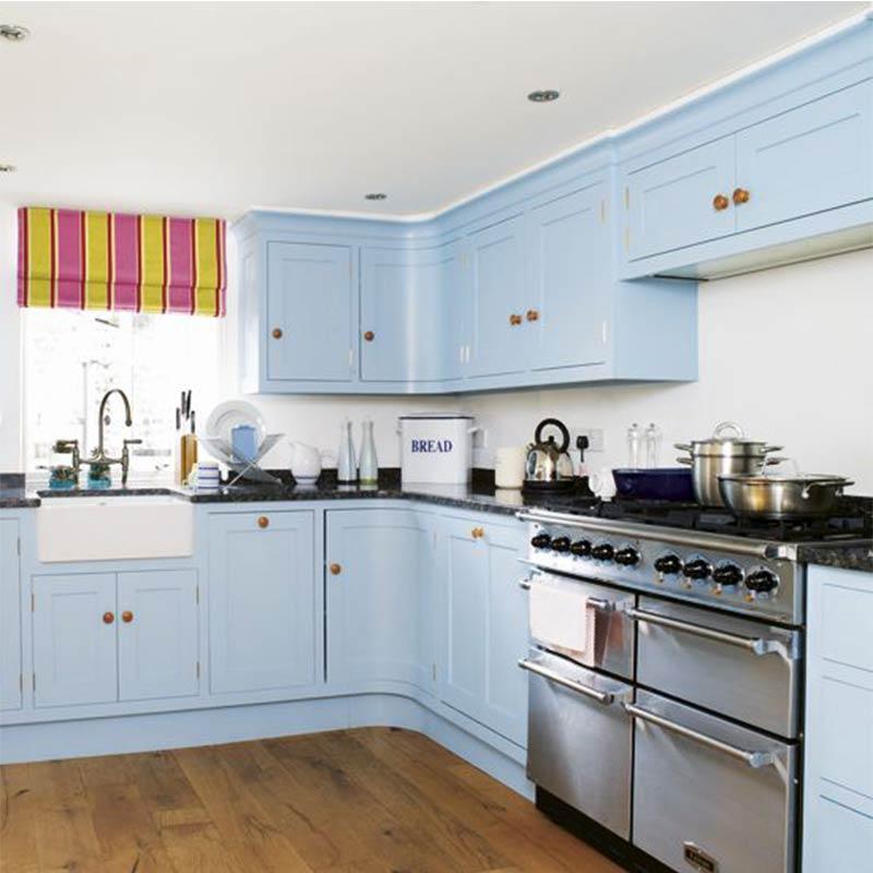 Kenya Project Modern Design Round Laminate Kitchen Cabinets In