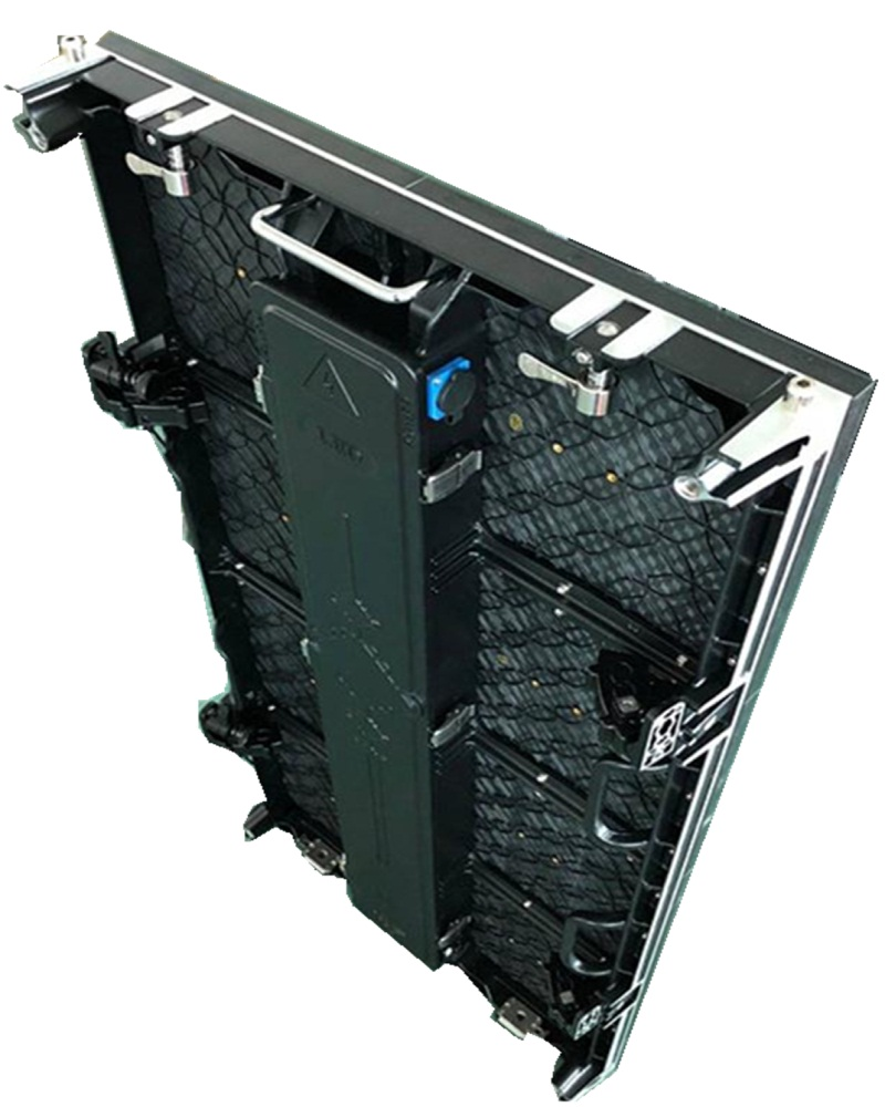500*1000mm Die-casting Aluminum cabinet p4.81 outdoor 104*208 dots SMD1921 Low cabinet power consumption led matrix