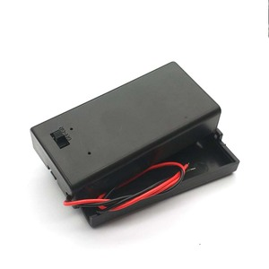 Image 4 - 9V Battery Holder Box With Wire Lead ON/OFF Switch Cover Case
