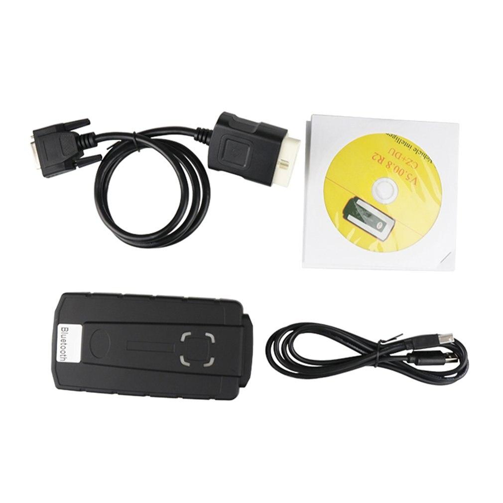 Outils diagnostiques de camions de voitures de VCI OBD2 DS de Kits de Scanner de voiture de Bluetooth avec l'équipement diagnostique de logiciel de CD