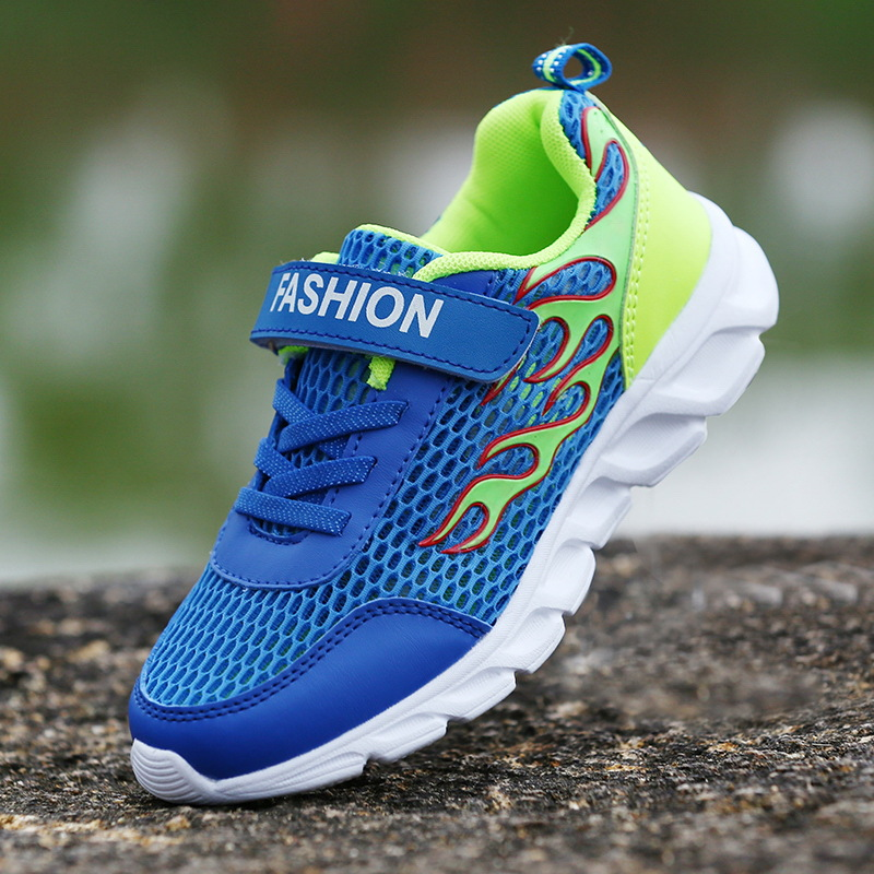 2019 New Children's Shoes Summer Casual Mesh Big Children's Students Fashion Sports Shoes