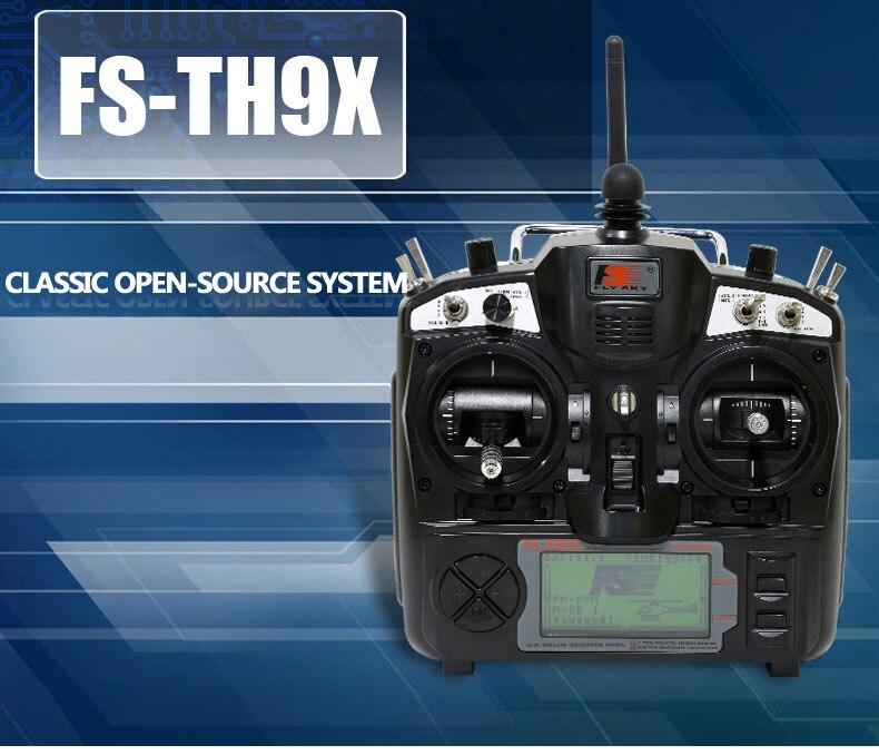 100 original flysky FS THX9X Upgrade FS TH9X B Remote Control 2 4G 9CH RADIO TH9X