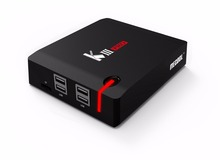 Mecool kiii Pro Android 6.0 3 ГБ 16 ГБ Smart TV Box DVB S2 DVB T2 Amlogic S912 BT 2.4 г/5 г WiFi Smart Media Player PK A95X X96