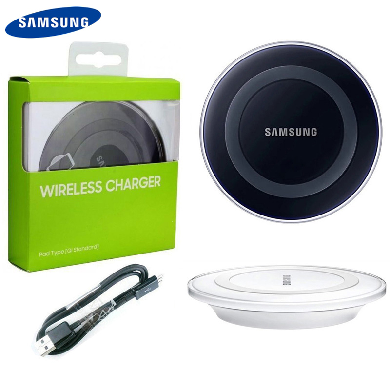 Original Wireless Charger For Samsung Galaxy S6 S6Edge S7 S7edge S8 G9200 S8 S9 Plus Note5 Note 8 iPhone 8 iphone X in Chargers from Consumer Electronics