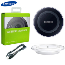 Original Wireless Charger For Samsung Galaxy S6 S6Edge S7 S7edge S8 G9200 S8 S9 Plus Note5 Note 8 iPhone 8 iphone X cheap gear vr 5 0 3d vr glasses helmet built in gyro sens for samsung galaxy s9 s9plus s8 s8 note5 note 7 s6 s7 s7edge
