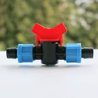 Dn17 Lock Tape Coupler With Valve Garden Irrigation LV0117