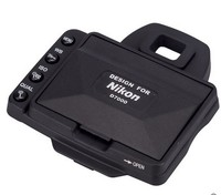 Camera LCD Hood Screen Protector And Sun Shade Shield Cover Shade For Nikon D7000 Split Type