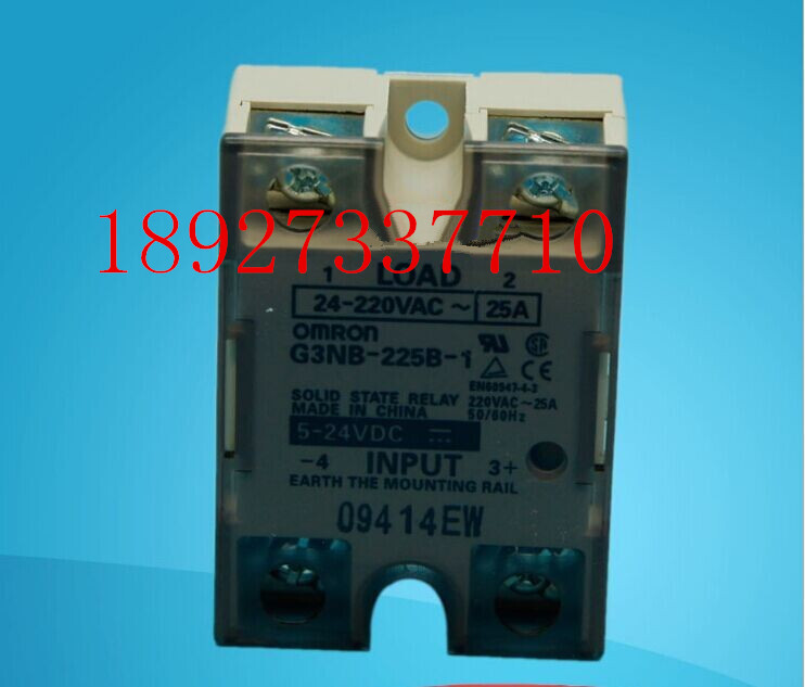 цена на [ZOB] Guarantee new original authentic OMRON Omron solid state relays G3NB-225B-1 DC5-24V --5PCS/LOT