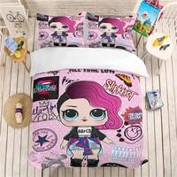 MUSOLEI 3D Bedding Set surprise doll Soft Bed Duvet Cover Set Twin/Full Queen Size