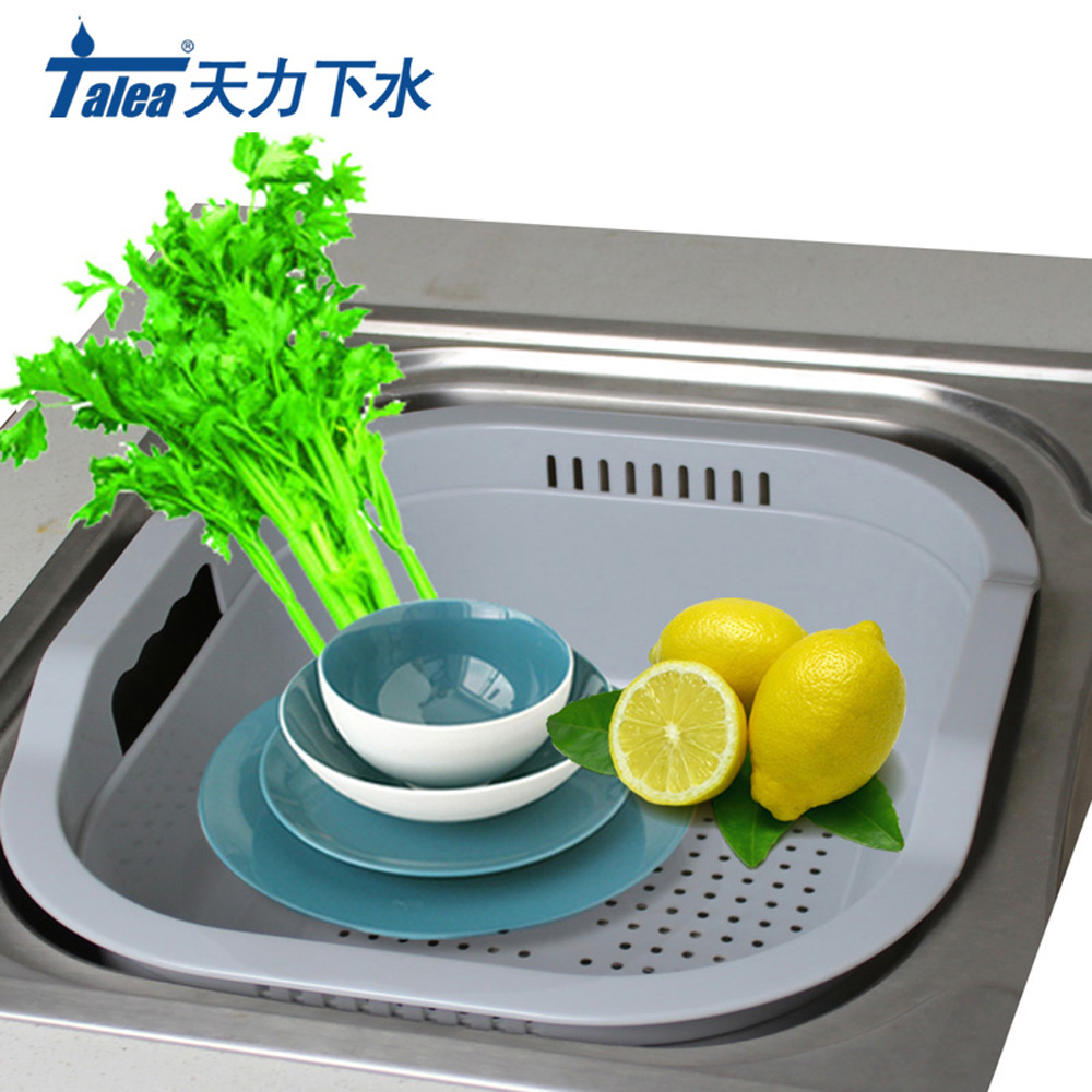 Talea PPmaterial Kitchen Tray Dish Drainer Drying Sink drain plastic ...