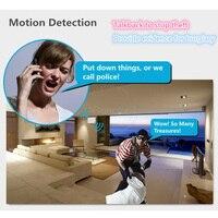 3G Sans Fil de Sécurité À Domicile Wifi IP Caméra D'alarme Infrarouge Motion détecteur PIR Capteur H.264 720 P Android IOS App Nuit Version JH09