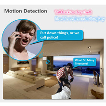 3G Wireless Home Security Wifi IP Camera Alarm Infrared Motion Detector PIR Sensor H.264 720P Android IOS App Night Version JH09(China)