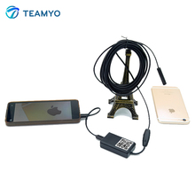 9 мм Объектив 1 М/3.5 М/5 М Кабель Водонепроницаемый Камера для iPhone и Андроид Эндоскоп 1/9 «CMOS Мини USB Эндоскоп Инспекции Камеры