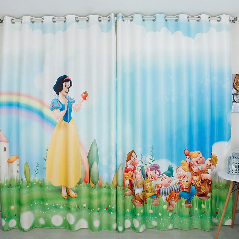 Princess Girls Room Valance Cutains Amazom: Popular Snow White Curtains-Buy Cheap Snow White Curtains