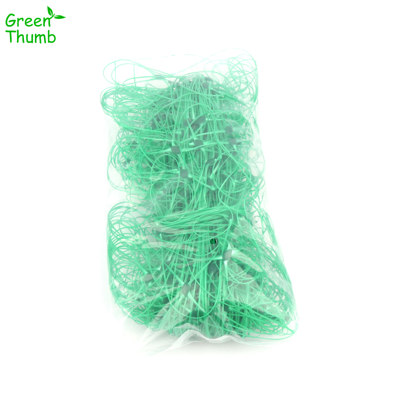 1pc 1.7*4m Plant Climbing Net Mesh10*10cm Plastic Net Flower Cucumber Plants Landing Net Frame Support Mesh