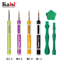 Kaisi Precision Magnetic Screwdriver Multifunctional Repair Tools For iPhone 6 7 8 with Prying & Opening Tool K-8117 7in1 kaisi k p3024a 24 in 1 screwdriver set